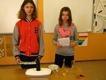 Eksperymenty na lekcji fizyki Ia - 2013r