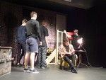 Secret in the wings - przedstawienie uczniów szkoły czeskiej we Frydku Mistku